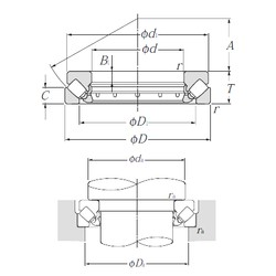 NTN 29256 Self-Aligning Thrust Roller Bearings