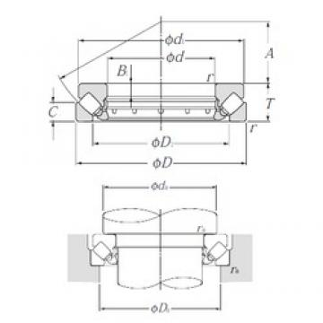 NTN 294/500 Self-Aligning Thrust Roller Bearings
