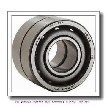 130,000 mm x 165,000 mm x 18,000 mm  NTN 7826 Angular Contact Ball Bearings (Single, Duplex)